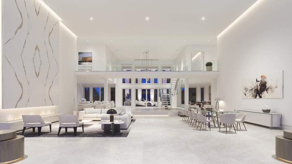 Great Room, car showroom, Shaq, Windermere, Florida, Compass, NBA, Orlando, Isleworth Golf