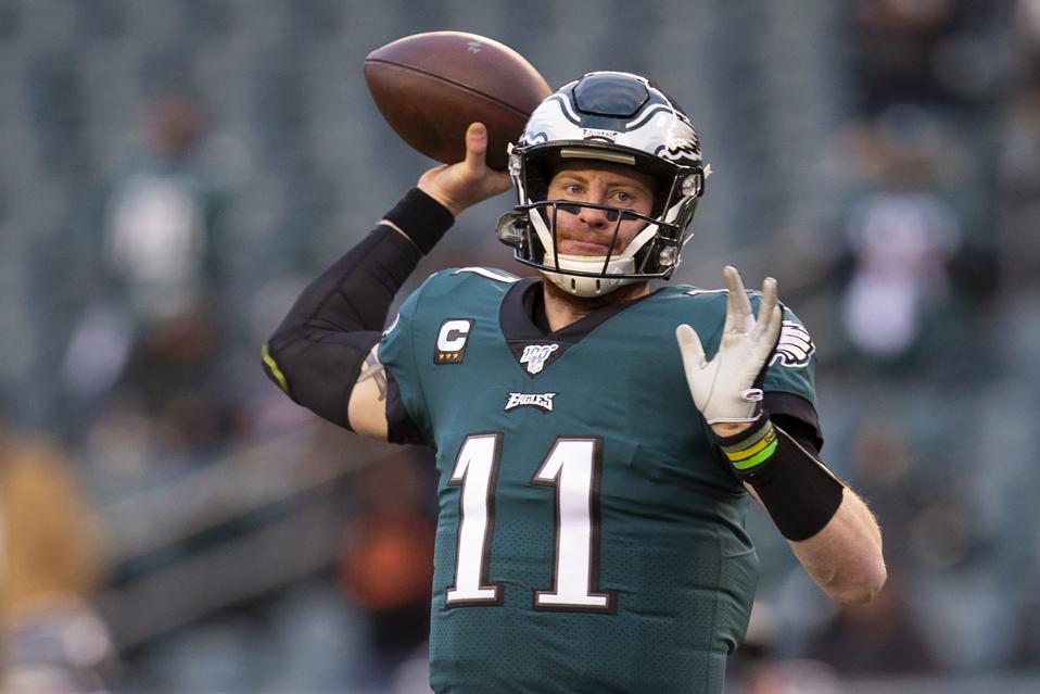Philadelphia Eagles quarterback Carson Wentz NFL
