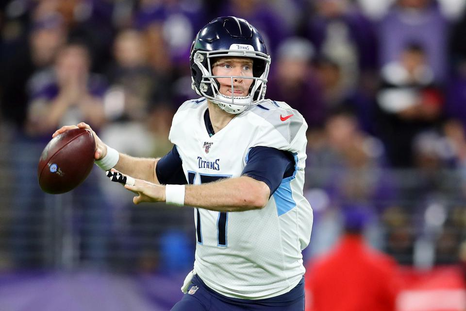 NFL QB Ryan Tannehill of Tennessee Titans