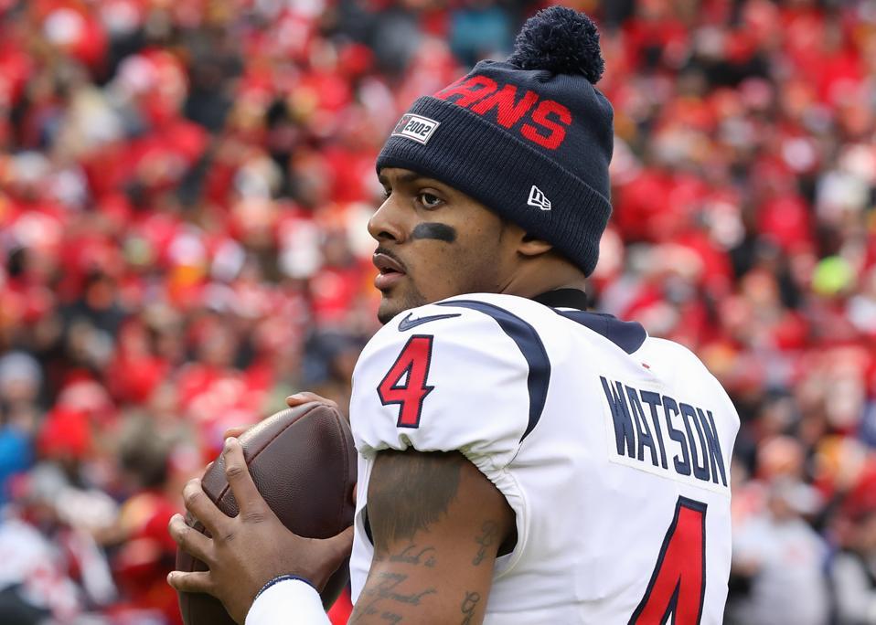 NFL QB Deshaun Watson of the Houston Texans