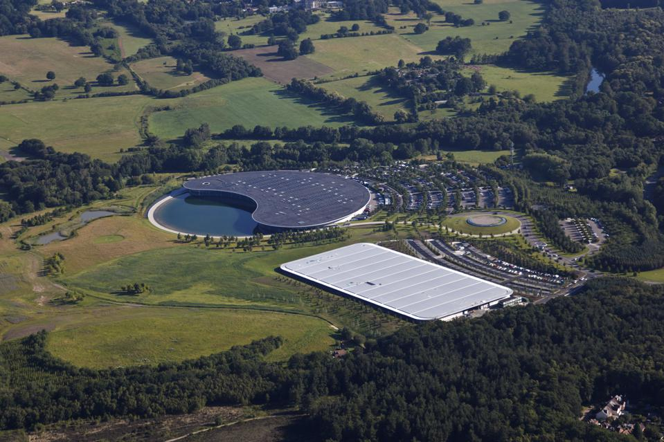 McLaren has listed its purpose-designed headquarters for sale.
