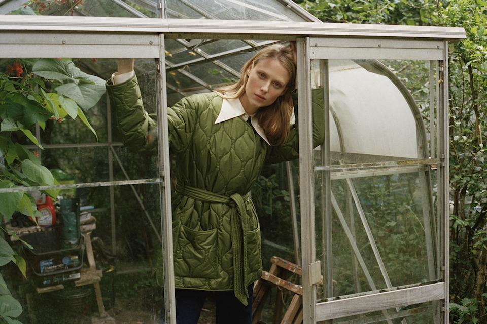 Barbour Martha Cropped Quilt