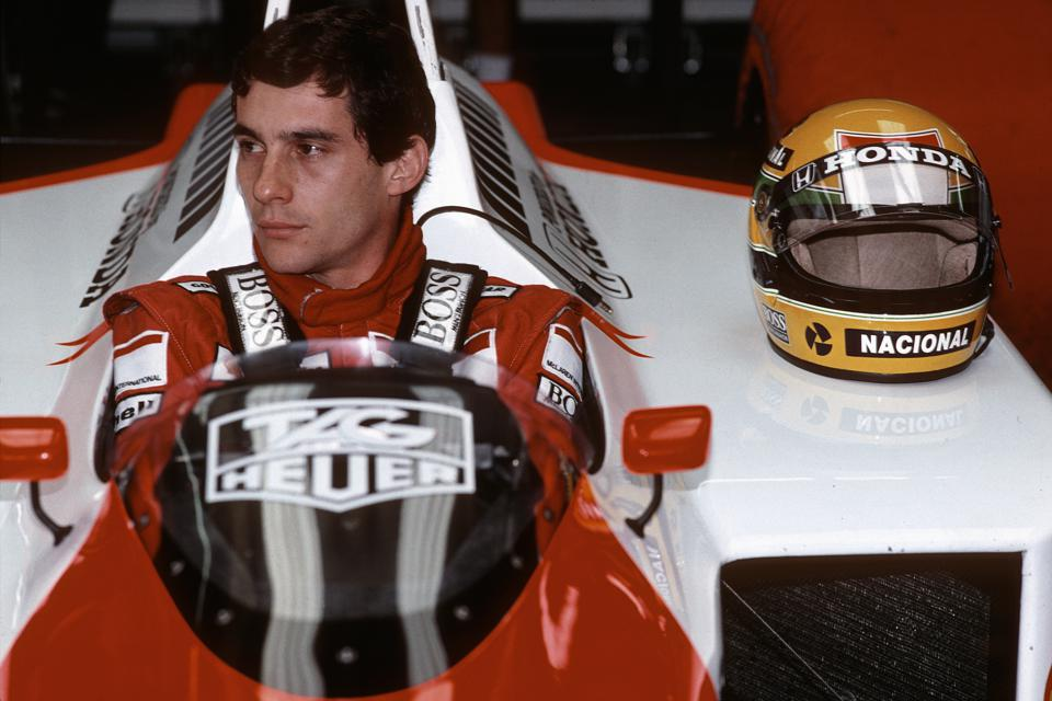 Brazilian Ayrton Senna was a revelation with McLaren, winning 33 races and three titles.