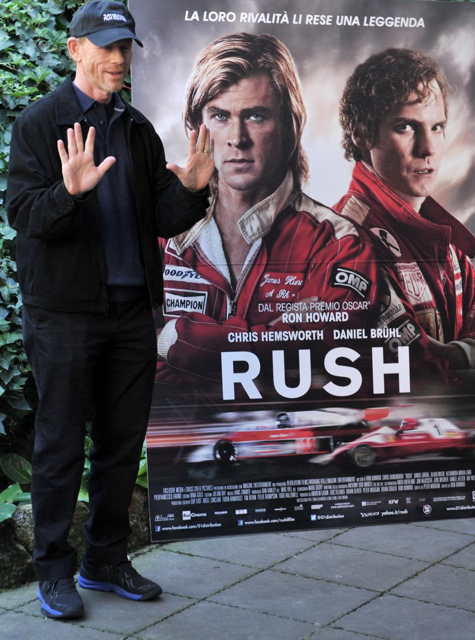 Ron Howard's Rush brought McLaren's history into the present.
