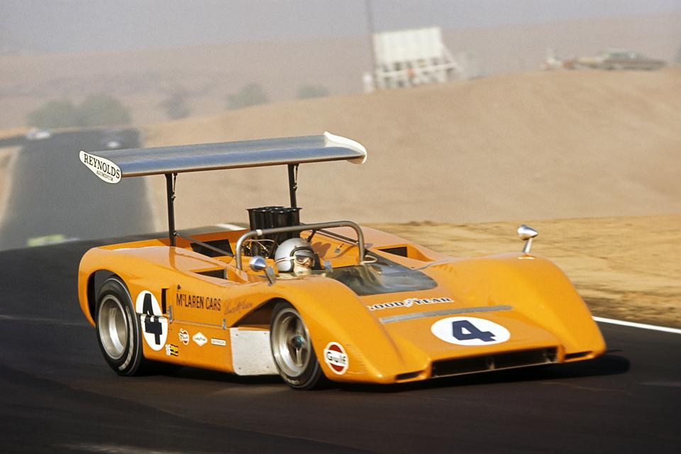 Company founder, Bruce McLaren, dominated the CanAm series in his own cars.