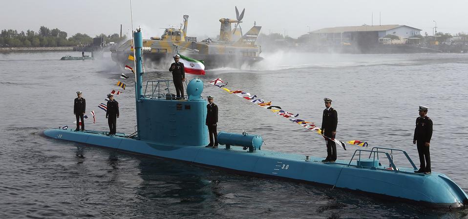 IRAN-MILITARY-NAVY submarine