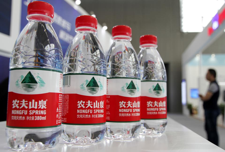 Chinese Bottled Water Company Nongfu Spring