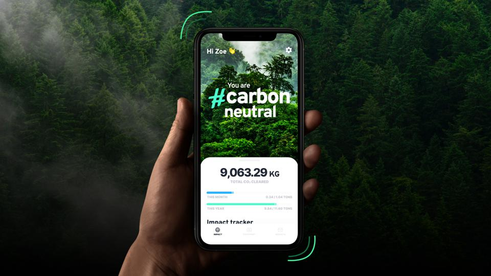 The Klima carbon calculator