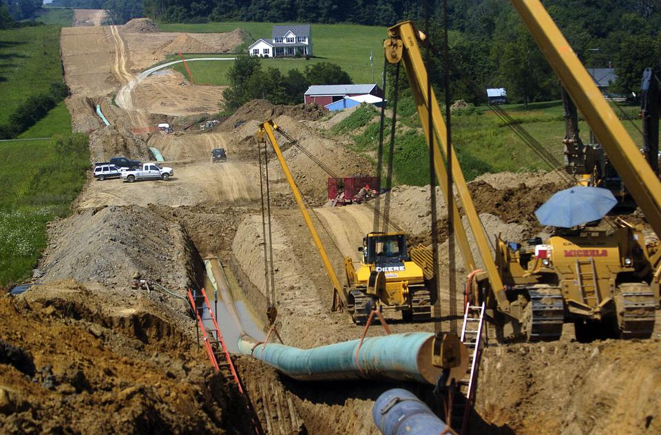 Natural Gas Pipeline Construction in Ohio