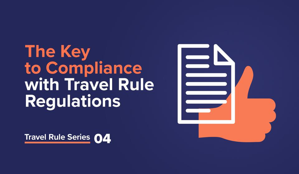 Cover image - The Key to Compliance with FATF Travel Rule Regulations