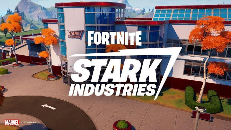 Fortnite Iron Man Boss Challenge