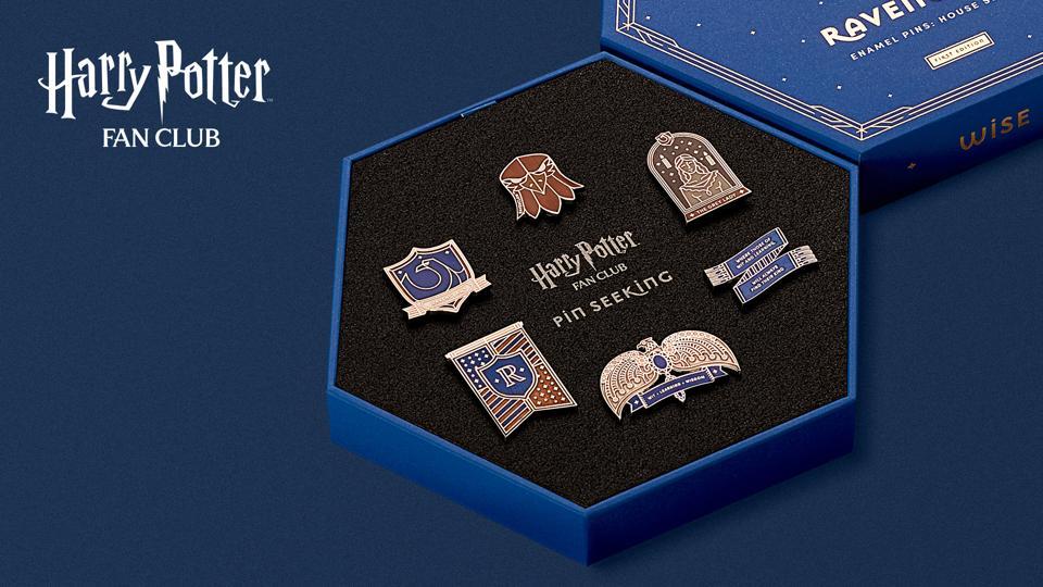 Ravenclaw Set - Harry Potter Fan Club Pin Seeking Collection