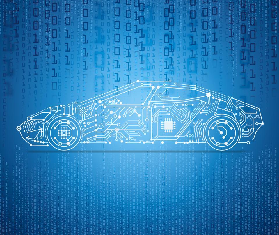 autonomous driving with a e-car