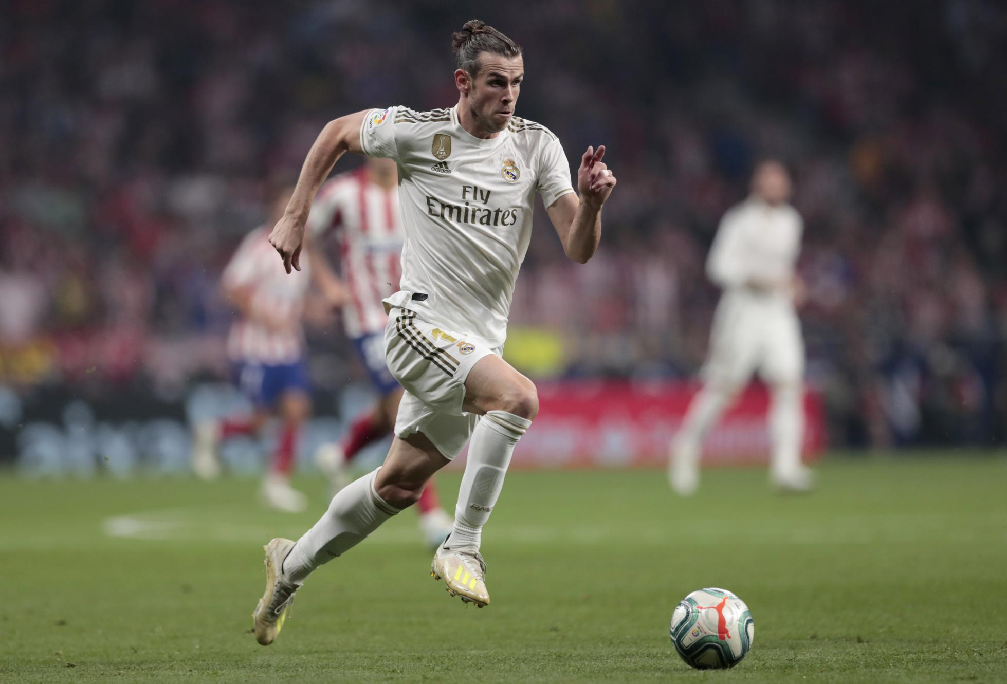 Gareth Bale appearing for Real Madrid
