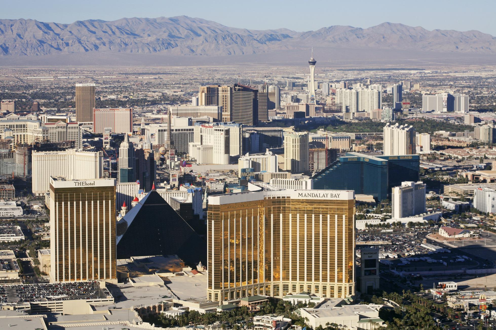 Aerial View of Las Vegas, Nevada
