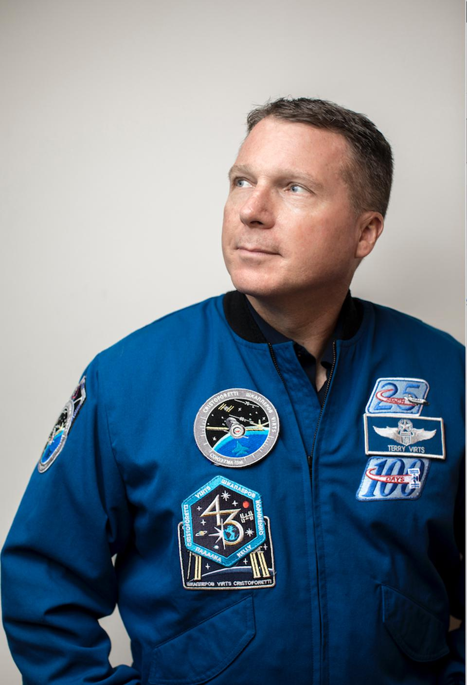 Astronaut Colonel Terry Virts