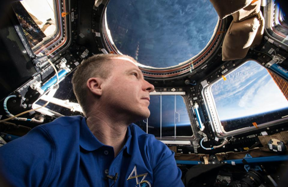 Astronaut Terry Virts pondering the world from the Space Shuttle