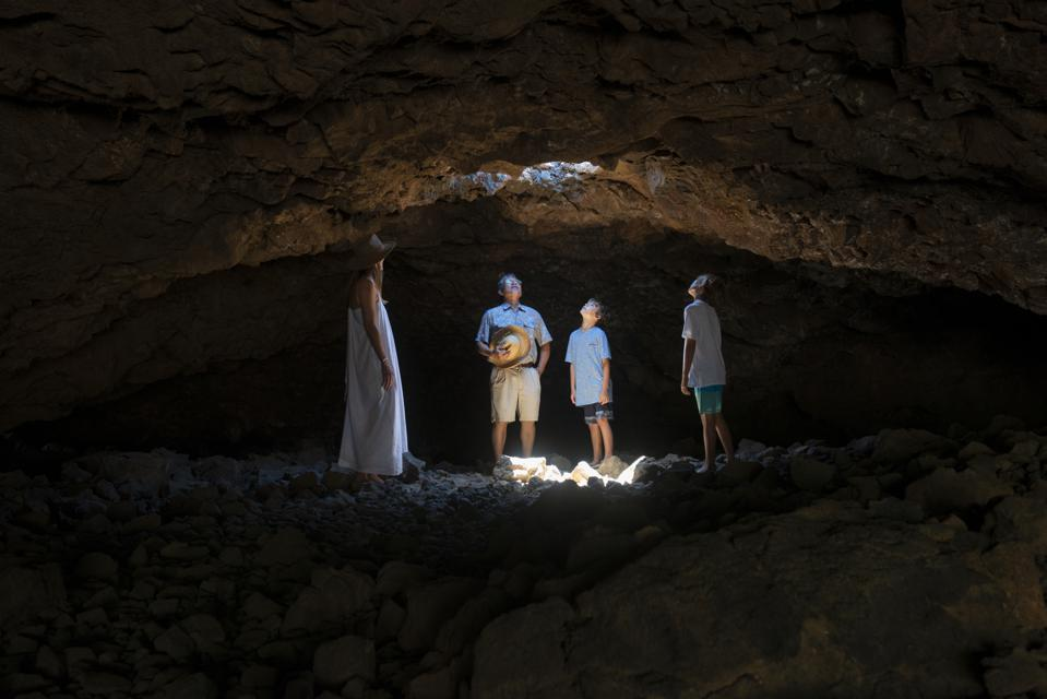 Cave expert at Mauna Lani, Auberge Resorts Collection