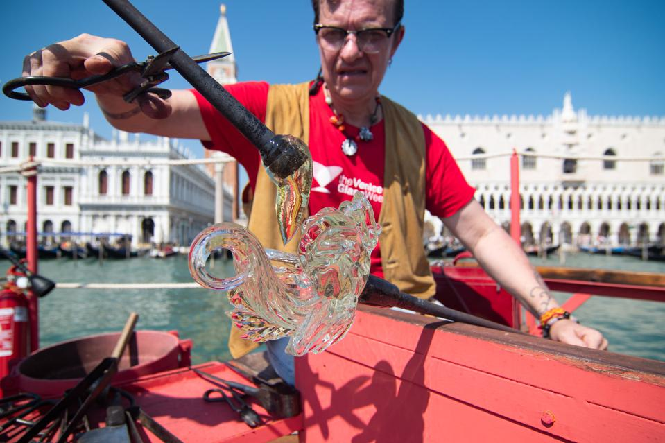 The First Floating Furnace In Venice