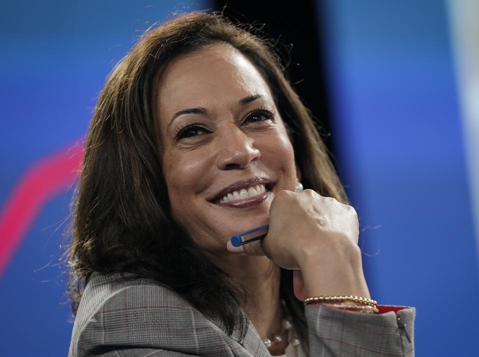 Presidential Candidate Joe Biden And Running Mate Kamala Harris Get Briefed On Coronavirus
