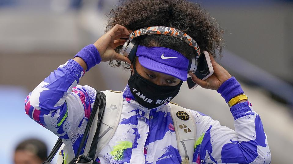 Naomi Osaka Wears 7th Face Mask With Tamir Rice's Name For US Open Tennis