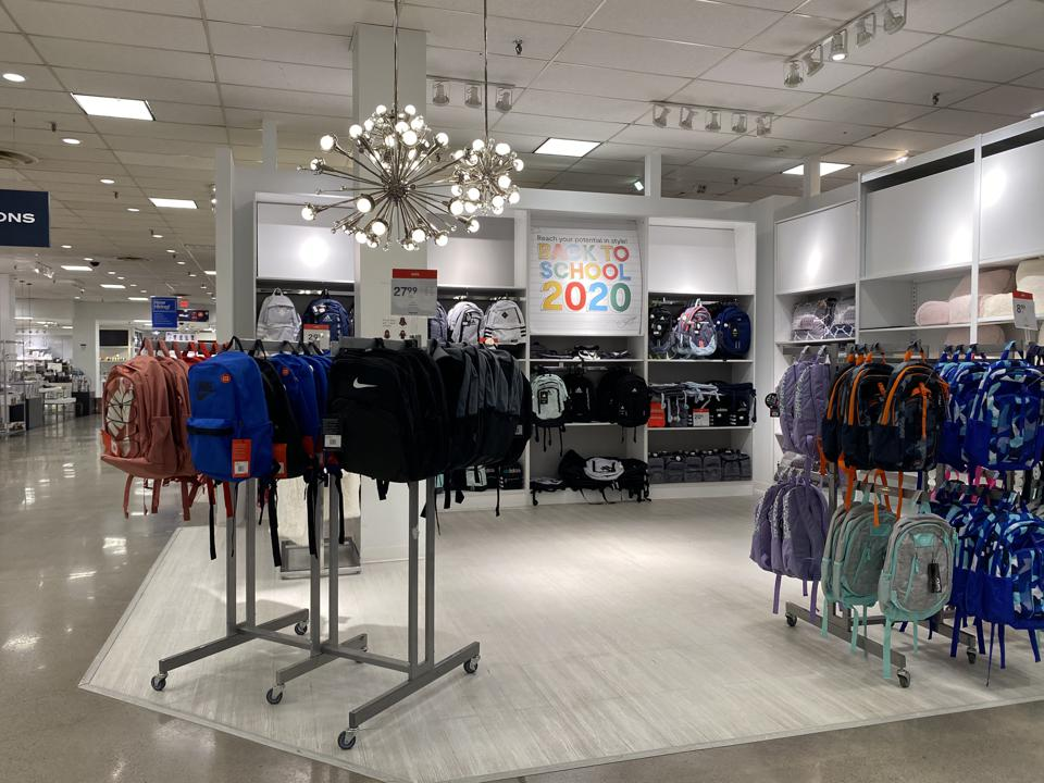 JCPenney Back to School bankruptcy