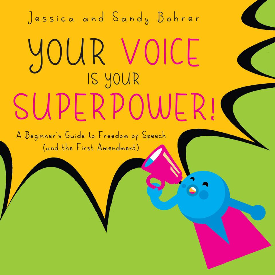 Front cover of Your Voice Is Your Superpower