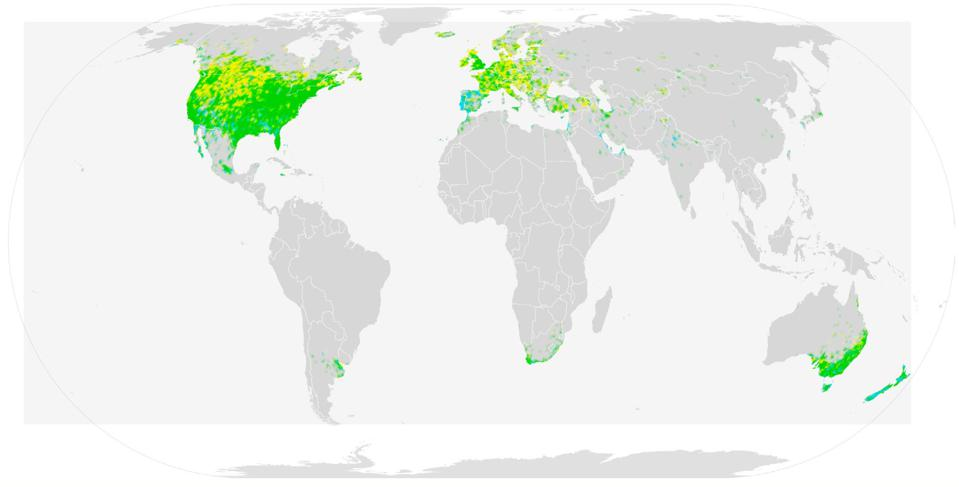 global starling populations