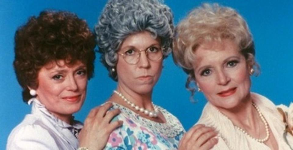 Rue McClanahan, Vicki Lawrence and Betty White appeared together on the first two seasons of The Carol Burnett Show spinoff Mama's Family.