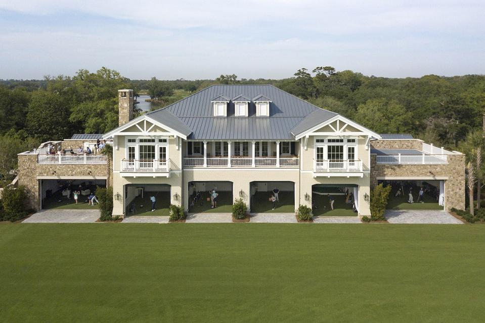Golf performance center at Sea Island