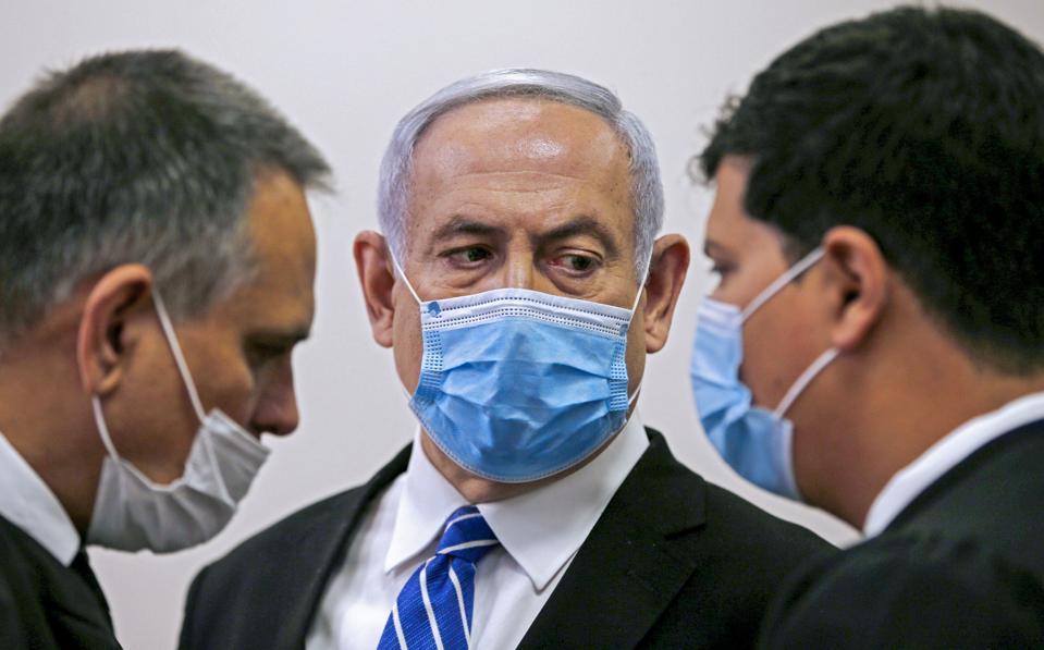 TOPSHOT-ISRAEL-POLITICS-TRIAL