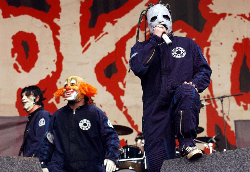 Slipknot - Reading Festival, 2002