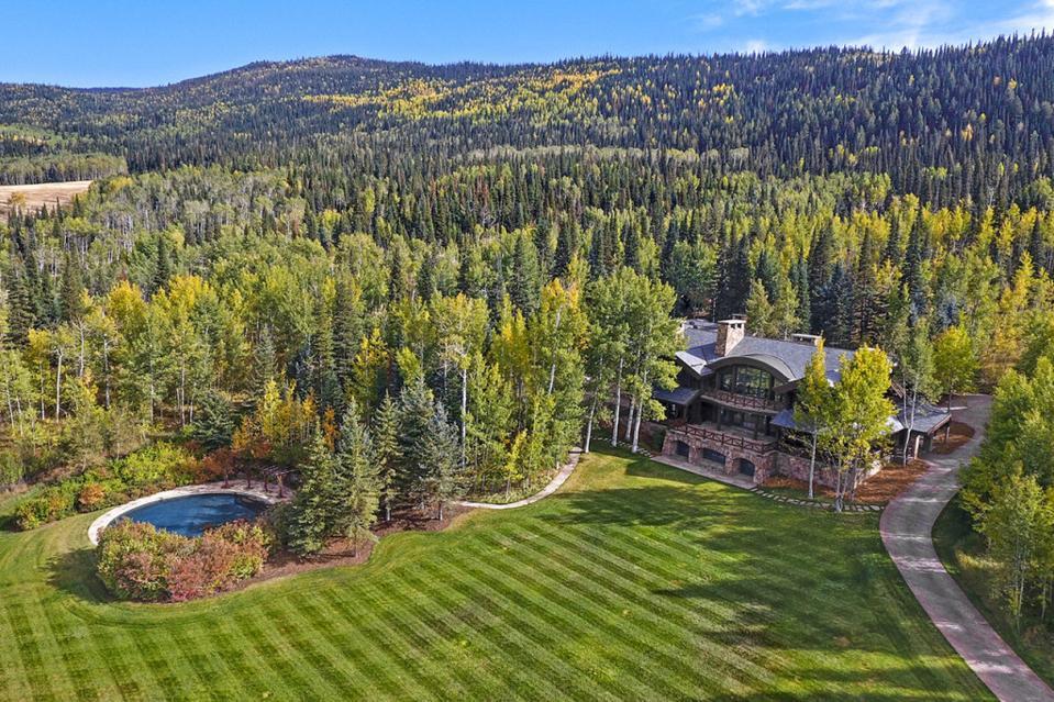 Billionaire Michael Bloomberg's Westlands Ranch in Colorado