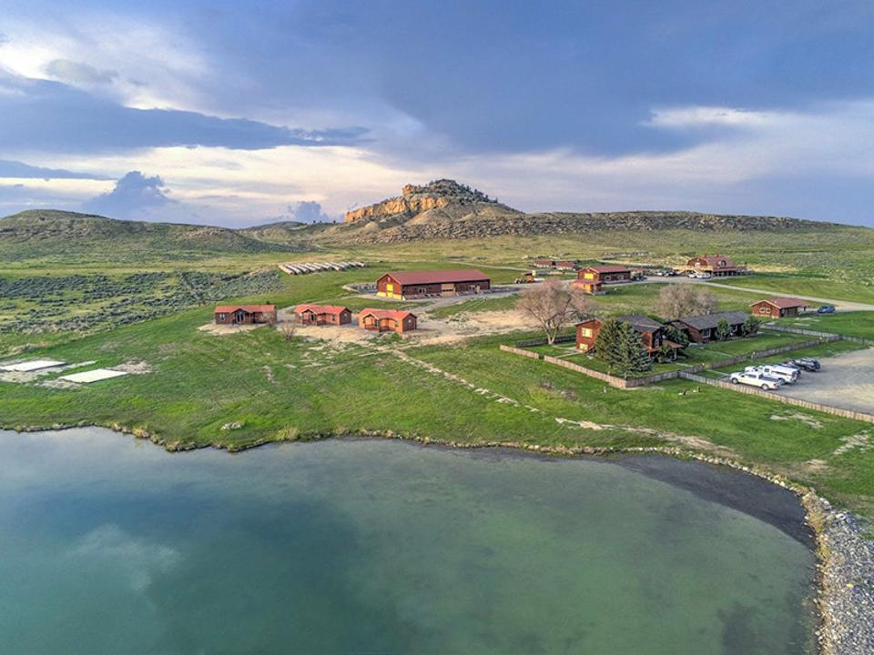 Monster Lake Ranch owned by billionaire rapper Kanye West