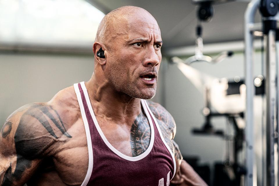 Dwayne ″The Rock″ Johnson Project Rock launch with Under Armour and Spotify