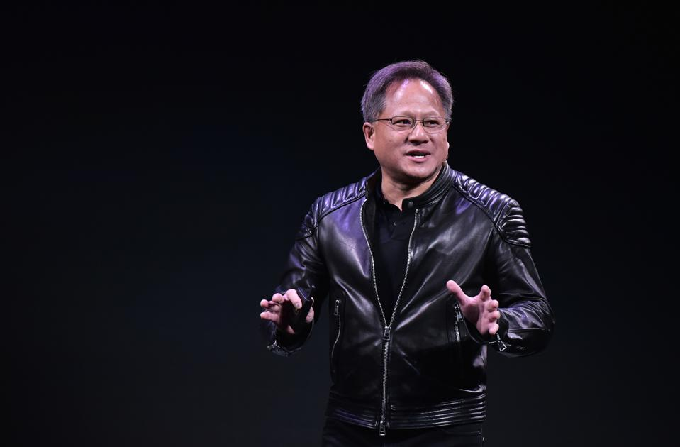 NVIDIA CEO Jensen Huang picture