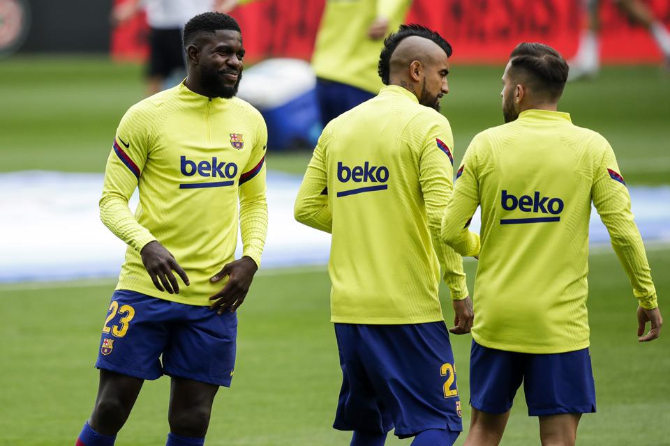 Samuel Umtiti is no longer wanted by Barcelona.