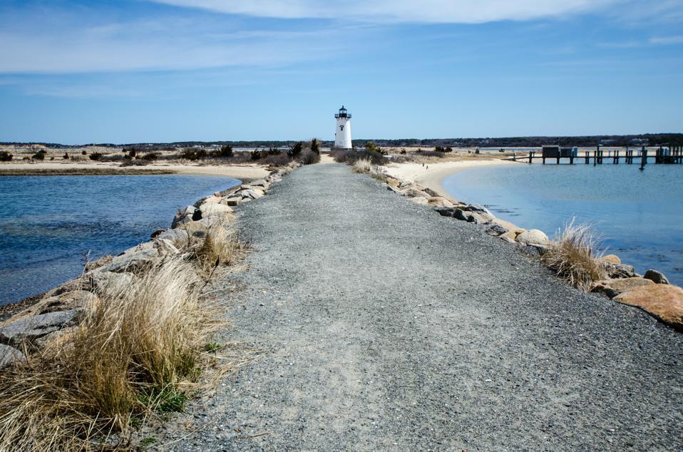 Edgartown Lighthouse, on Martha's Vineyard in Massachusetts