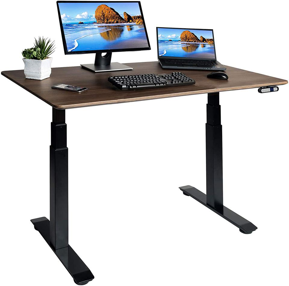 Seville Classics AIRLIFT Pro Electric Adjustable Standing Desk