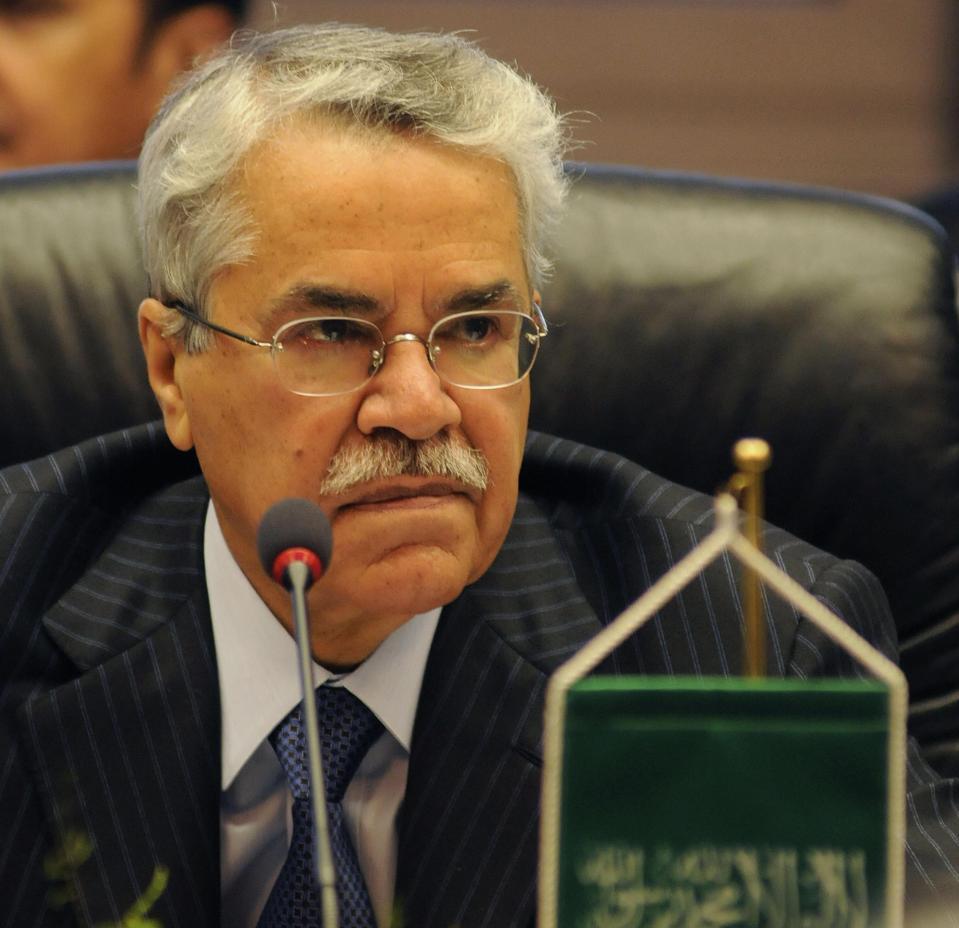 Saudi Oil Minister Ali al-Naimi attends