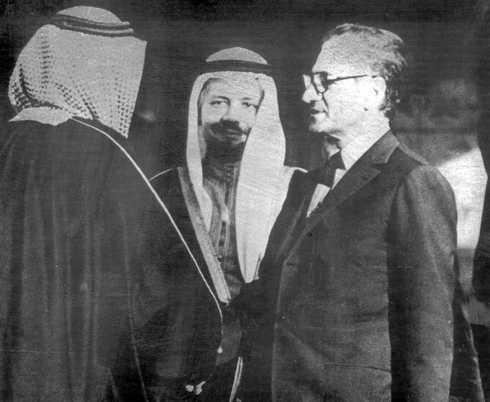 Mideast Saudi Arabia Iran Glance
