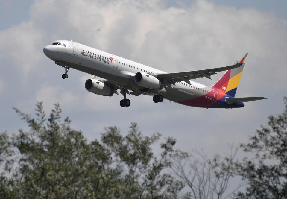 Asiana Airlines airplane