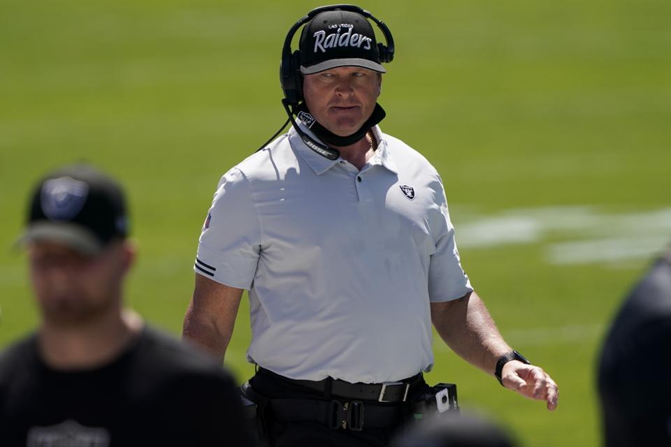 Las Vegas Raiders Week 1 win over Panthers.