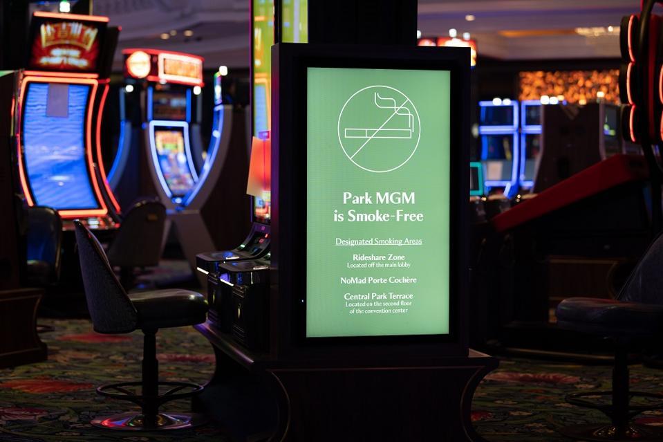 No smoking sign Las Vegas