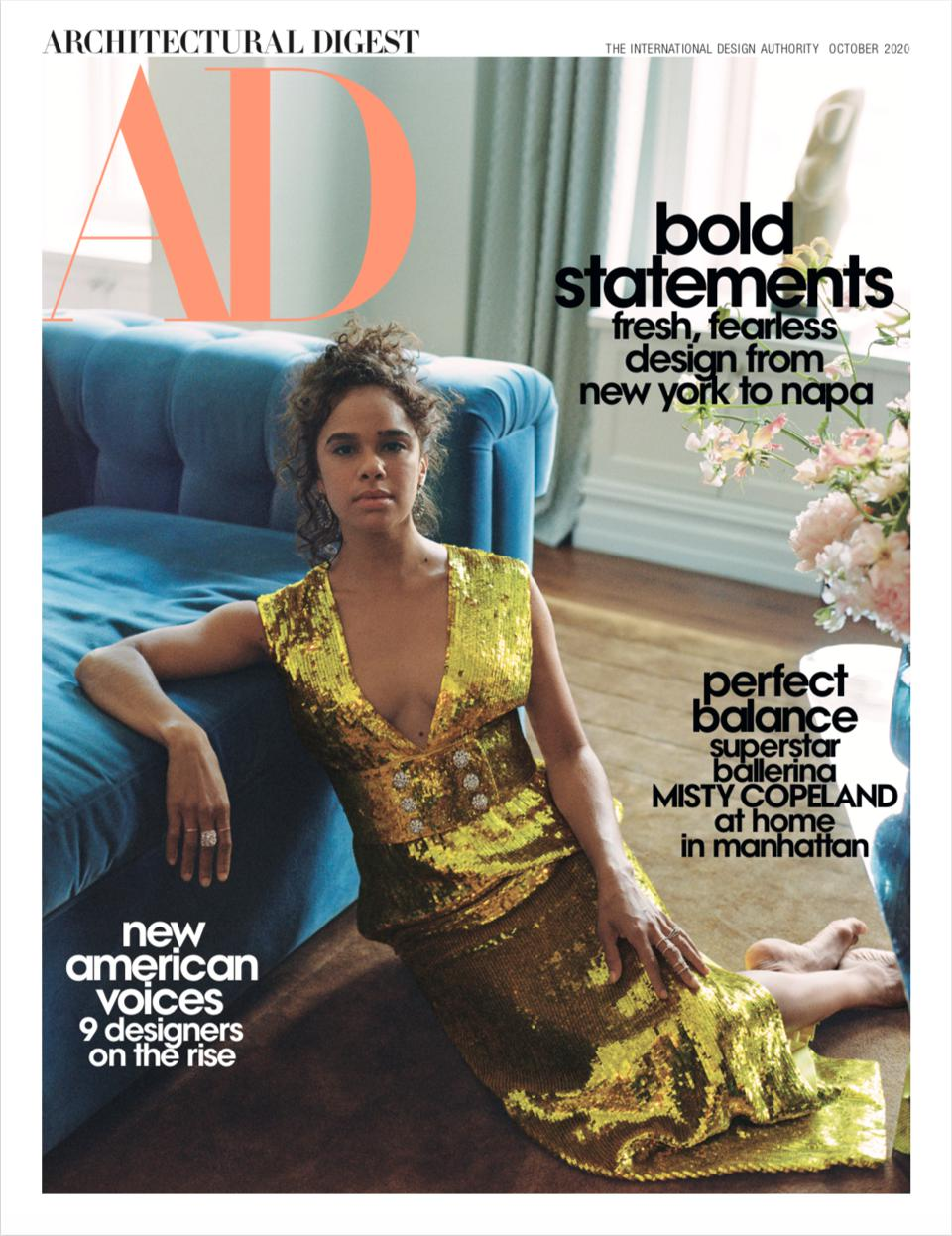 architectural digest, amy astley, misty copeland, future of design, conde nast