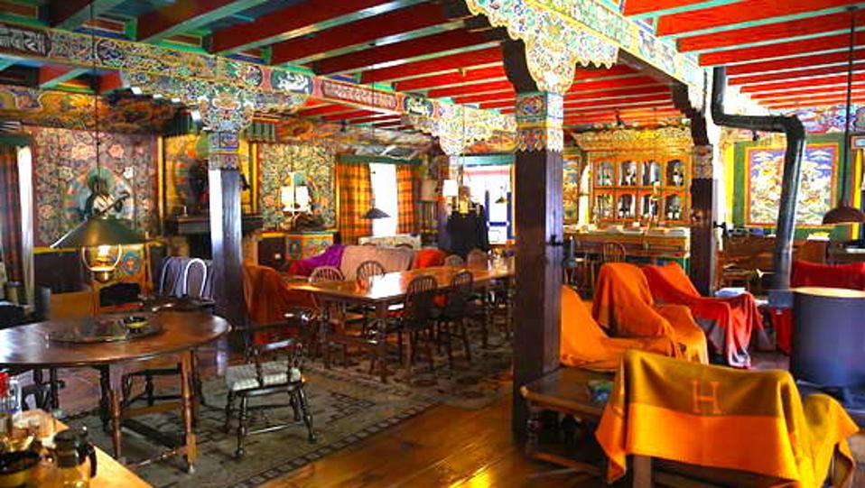 The Happy House interior