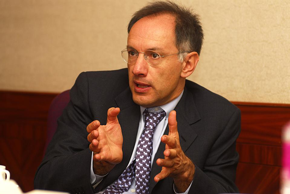 Michael Moritz, Venture Capitalist and partner with Sequoia Capital  (Getty Images)