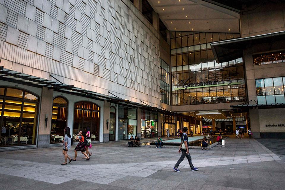 Ayala Land's Greenbelt shopping mall in Makati City.