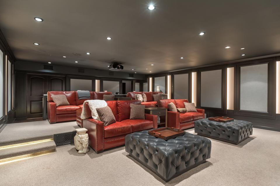 Bel-Air, Kathy Griffin, comedian, contemporary, design, mansion, luxury, home theater