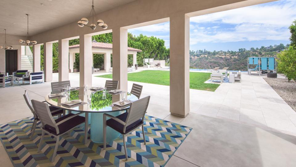 Bel-Air, Kathy Griffin, comedian, contemporary Mediterranean, design, al fresco dining